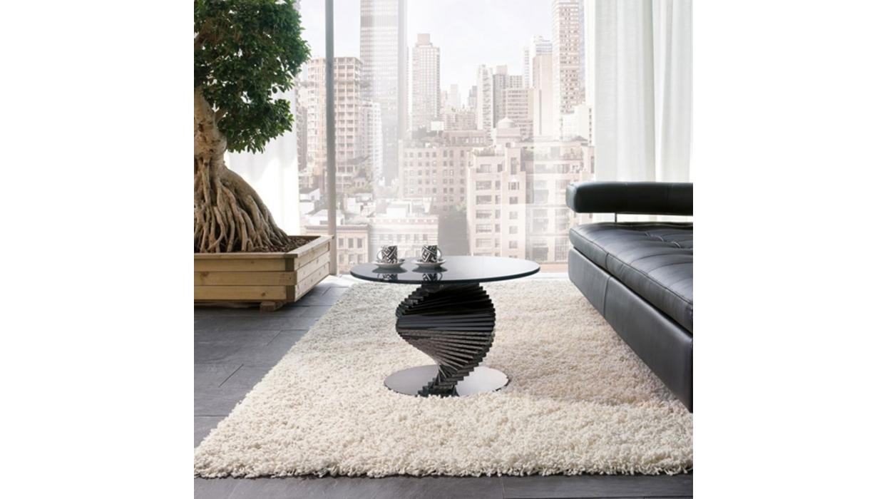 Tavolino tonin casa modello ariel piano tondo arredare - Tavolini tonin casa ...