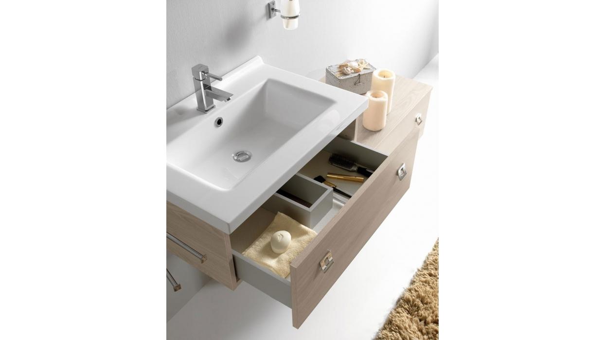 Mobile bagno modello sirio209 labor legno arredare moderno for Mobile bagno moderno legno