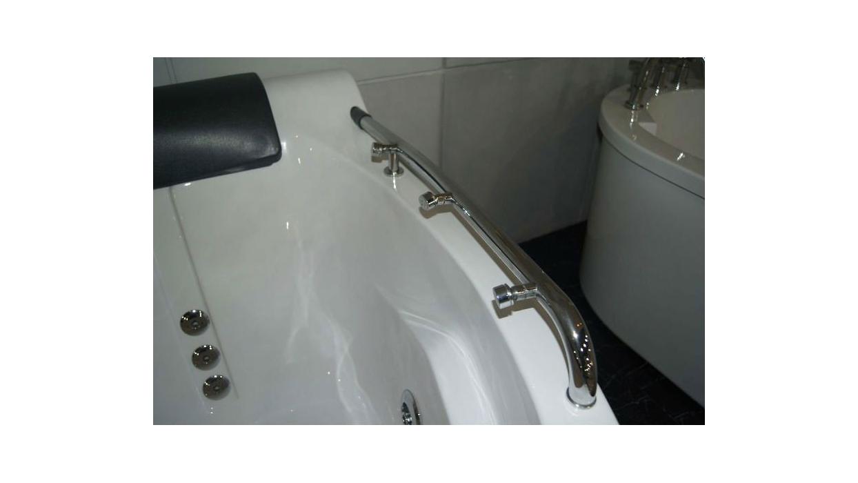 Vasca idromassaggio da bagno per due persone 150x150 A007 - Arredare Moderno