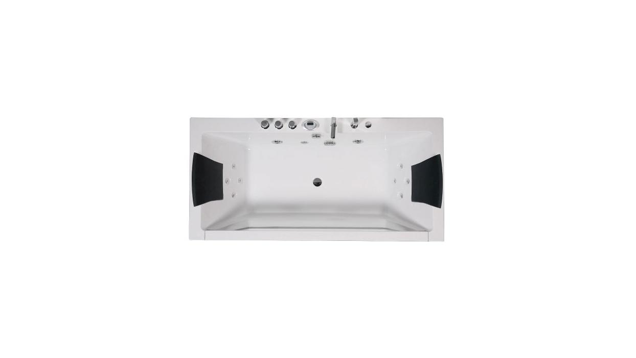 Vasca idromassaggio da bagno per due persone 185x90 1813 - Arredare Moderno