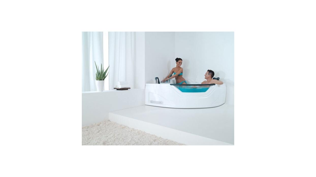 Vasca Da Bagno Per Due : Vasca idromassaggio da bagno per due persone