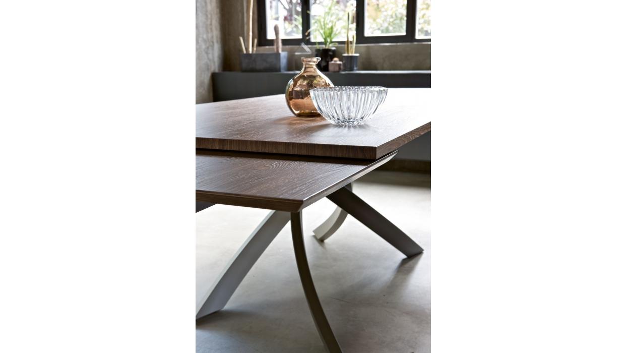 Tavolo bontempi casa modello artistico allungabile for Tavolo design allungabile artistico di bontempi