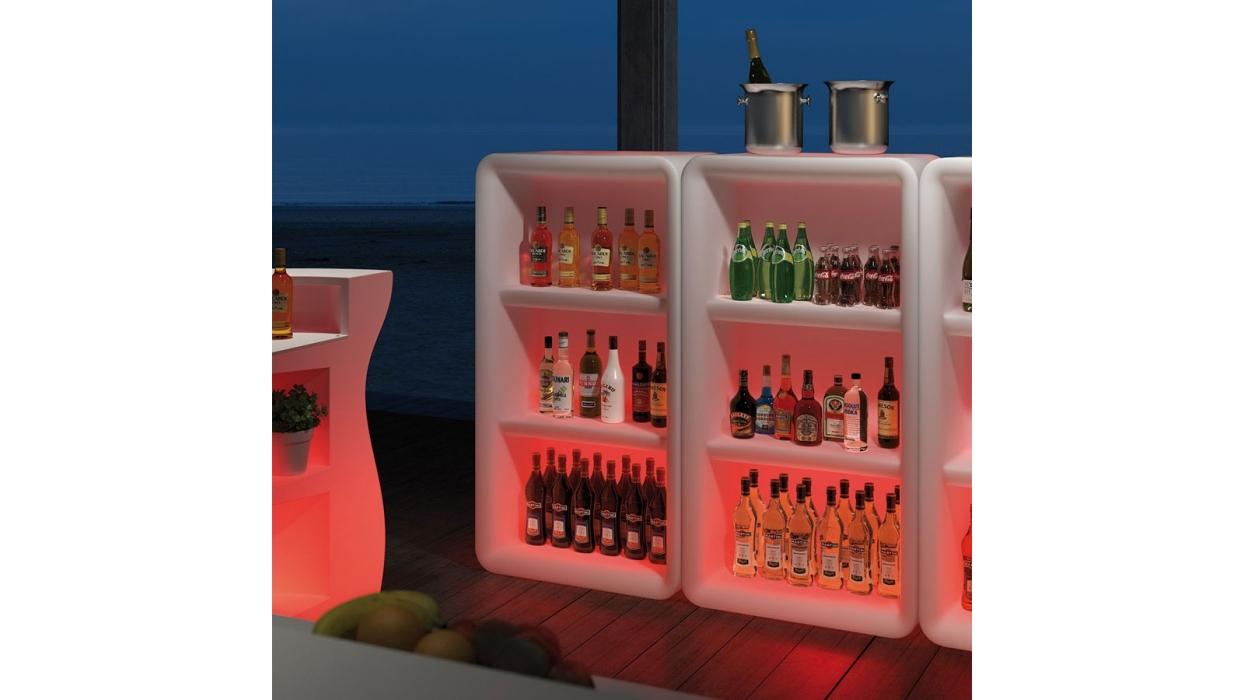 Modulo plust modello bartolomeo display luminoso - Bartolomeo mobili ...