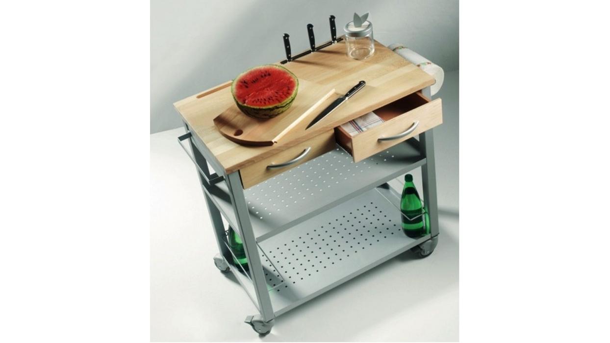 Carrello bar pezzani modello chef arredare moderno - Carrello cucina moderno ...