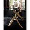 Tavolo Artistico 20.01 / 20.02 fisso legno cristallo Bontempi Casa