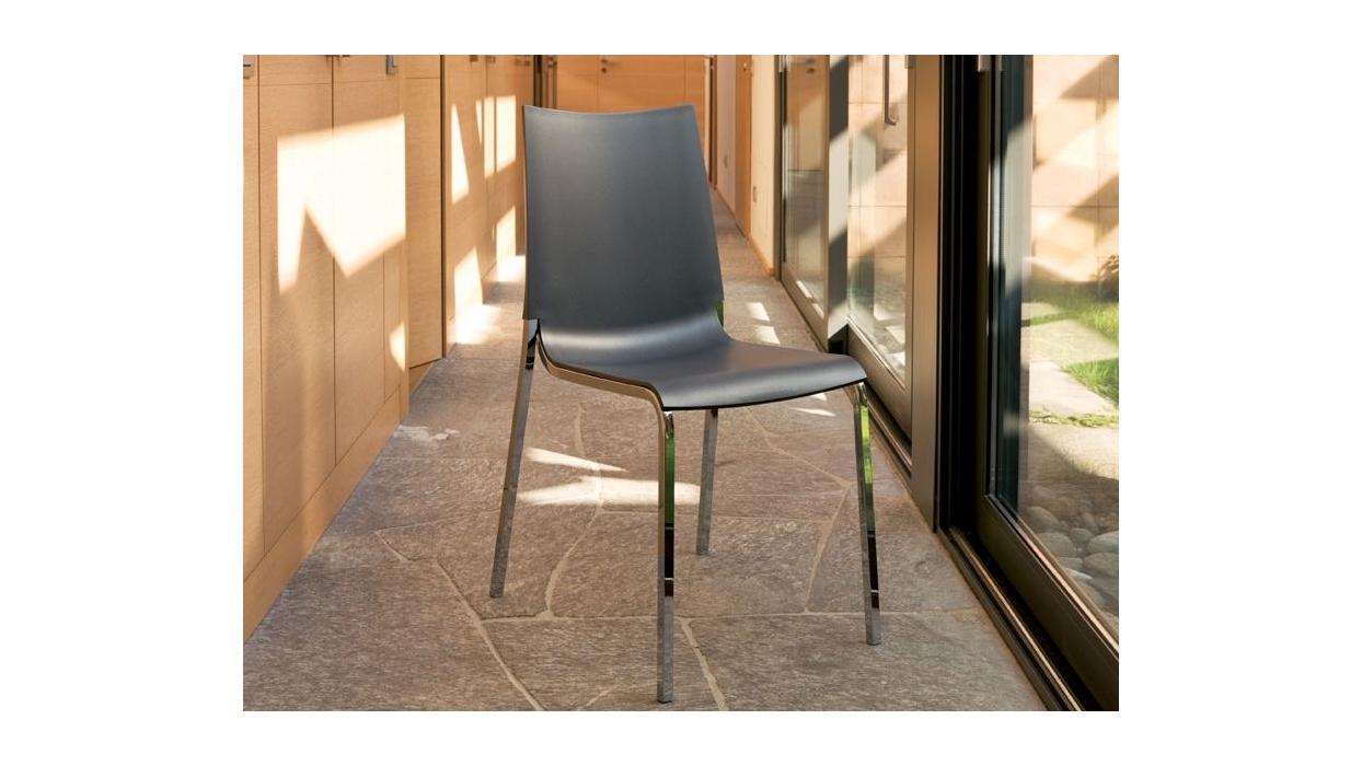 Sedia bontempi casa modello eva per esterno arredare moderno