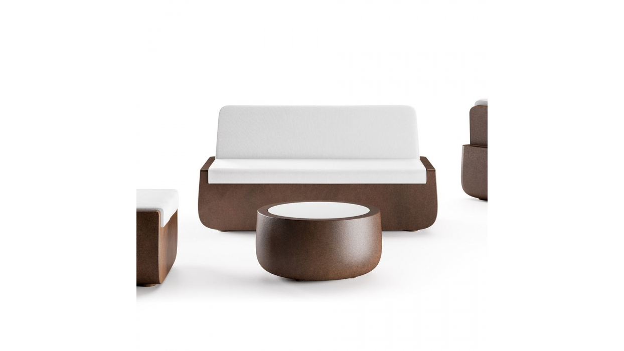Divano plust modello bold sofa arredare moderno for Divano verde salvia
