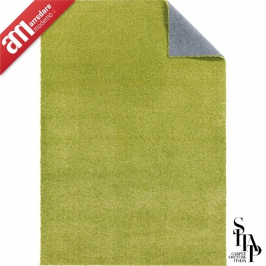Tappeto Armonia Green 040 Sitap Collezione Chef Mystyle Linea Plain Colour