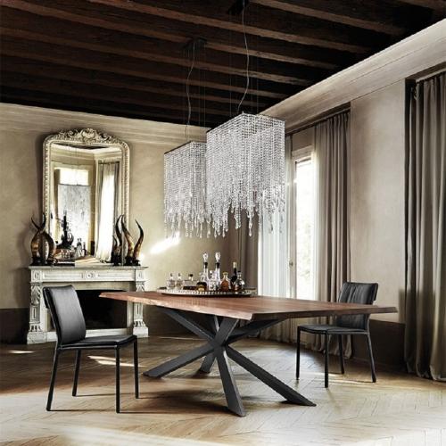 Tavolo Spyder Wood Cattelan Italia
