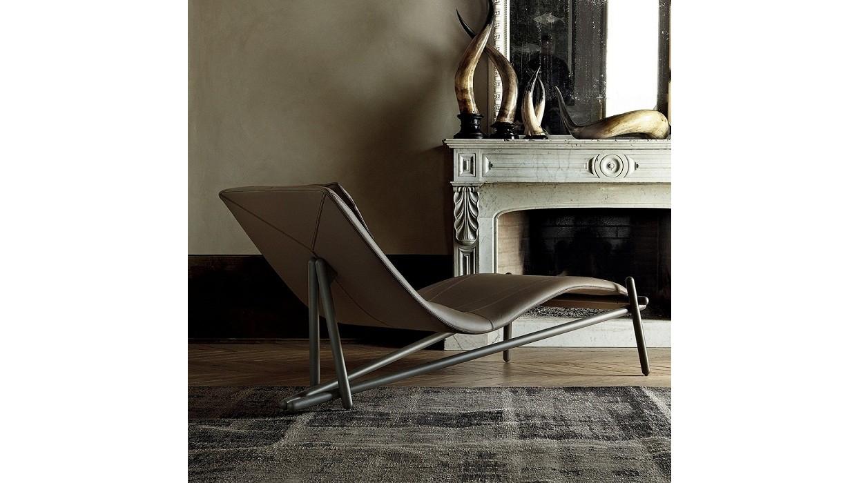 Chaise longue cattelan italia modello donovan arredare moderno