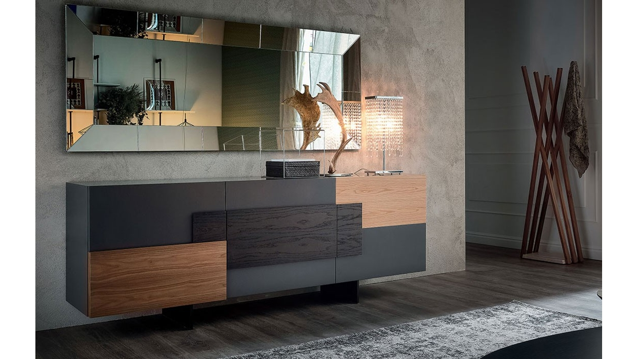 Credenza Moderna Torino : Madia cattelan italia modello torino arredare moderno