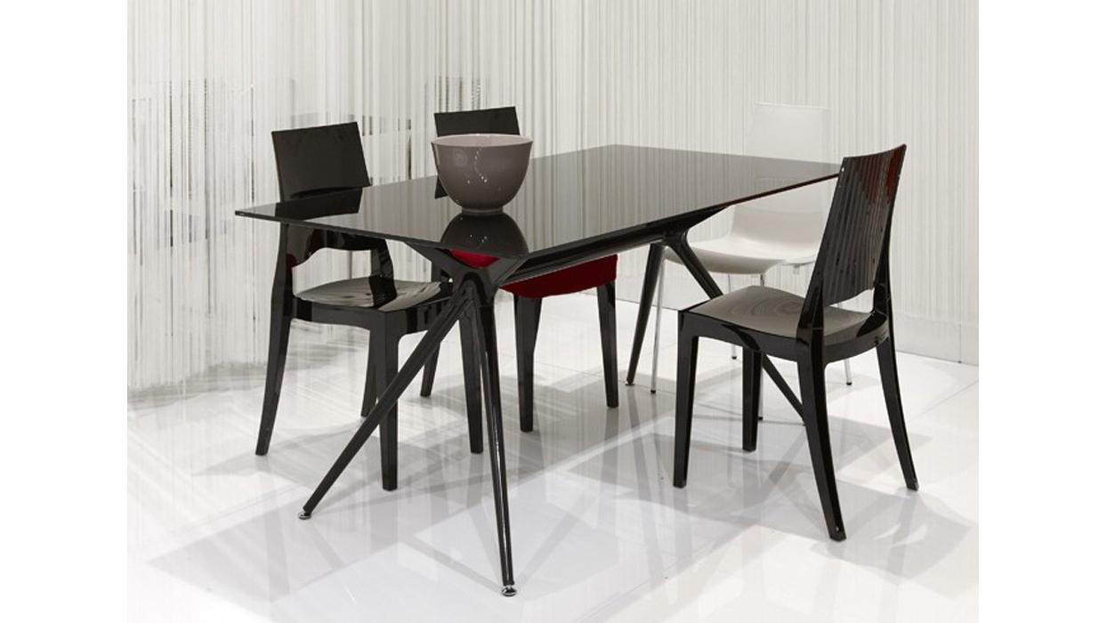 Tavolo scab design modello metropolis piano vetro - Piano tavolo vetro ...