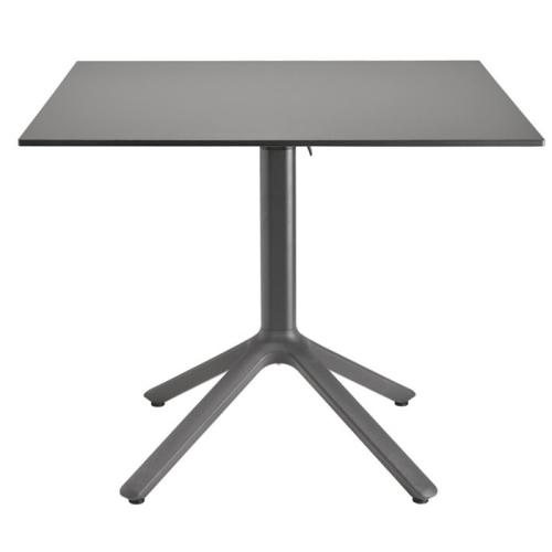 Tavolino Bar Nemo Scab affiancabile H.109 con piano in acciaio