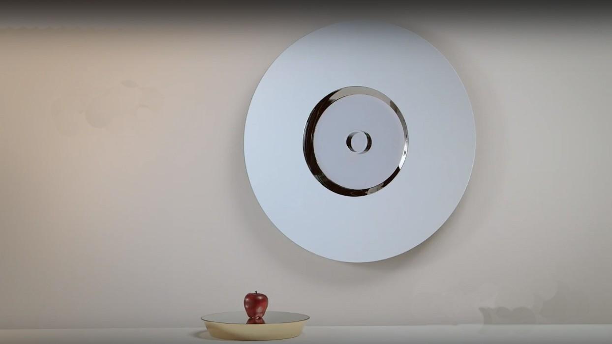 Specchio da parete tonelli design modello ozma arredare for Specchio da parete moderno