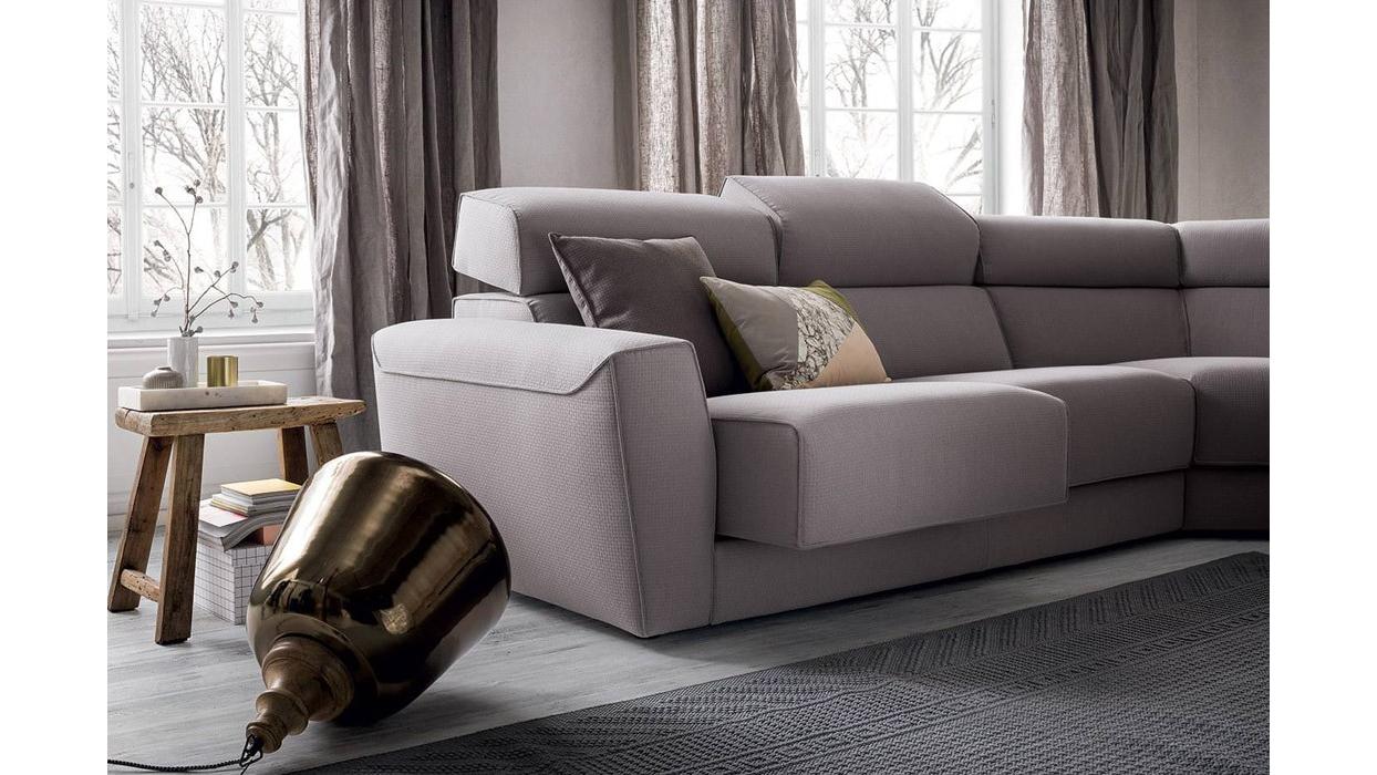 divano felis modello ajar con chaise longue arredare moderno