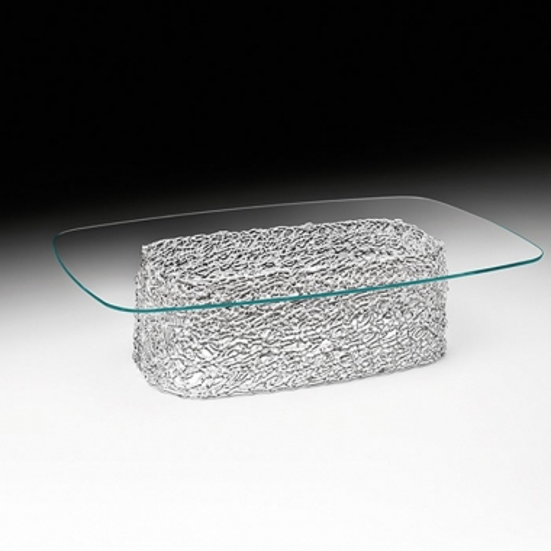 Tavolino Basso Macramè Fiam