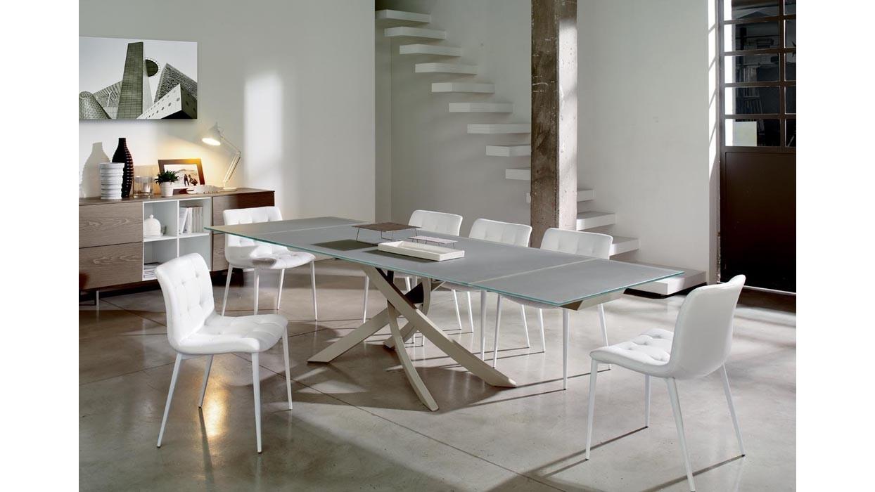 Sedia bontempi casa modello kuga arredare moderno - Casa in acciaio prezzo ...