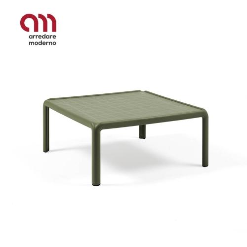 Tavolino Komodo Nardi in vetro