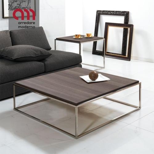 Tavolino Lamina Pezzani XL quadrato