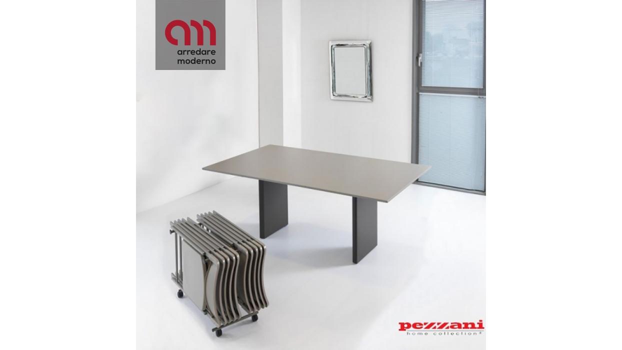 Tavolo Consolle Pezzani Proteo Con Set Di Sedie Arredare Moderno