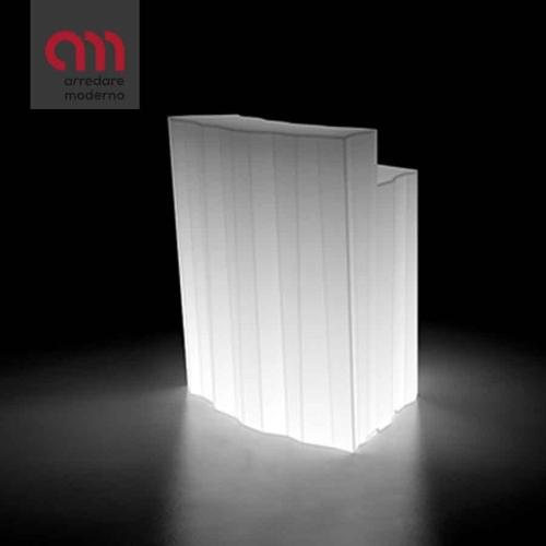 Bancone Frozen Corner Plust illuminabile