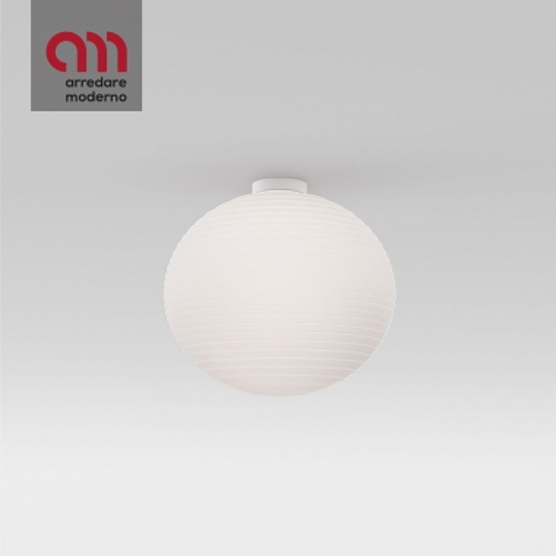 Lampada Flow Glass Rotaliana da soffitto
