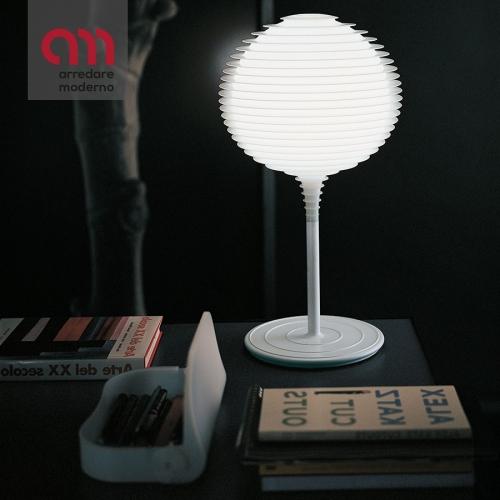 Lampada Flow Glass Rotaliana da tavolo