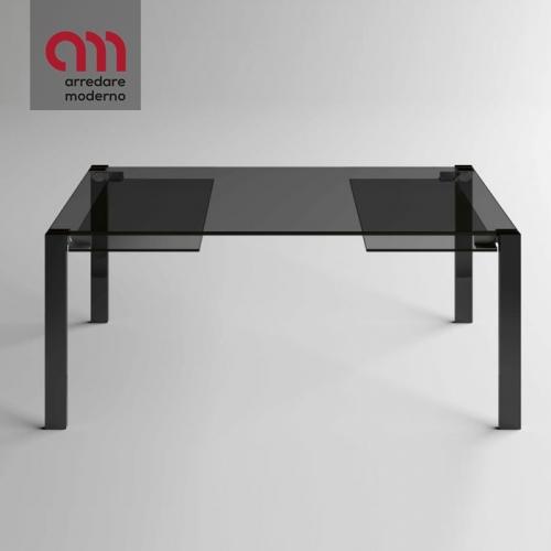Tavolo Livingstone Dark Tonelli Design allungabile