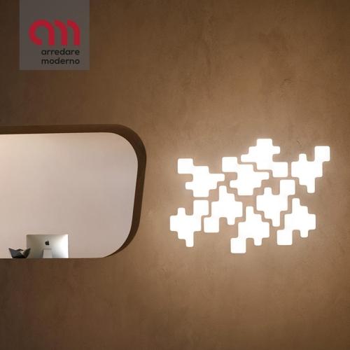 Lampada Pixel Kundalini da parete
