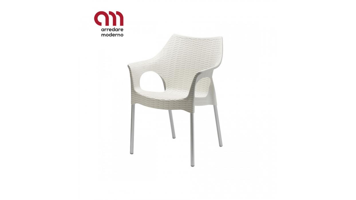 Sedia Olimpia Scab Design