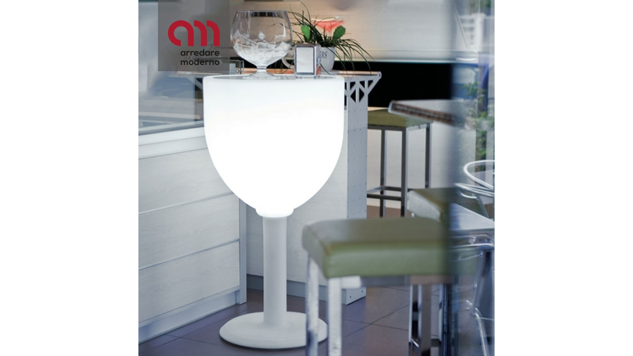 Tavolino calice Wine luminoso Modum