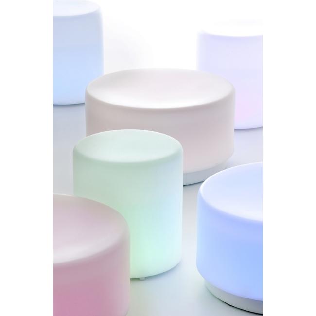 Sgabello / Pouf luminoso Wow Pedrali
