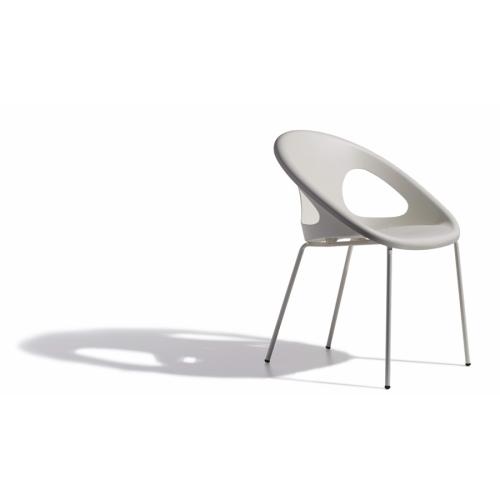 Sedia Drop telaio verniciato Scab Design