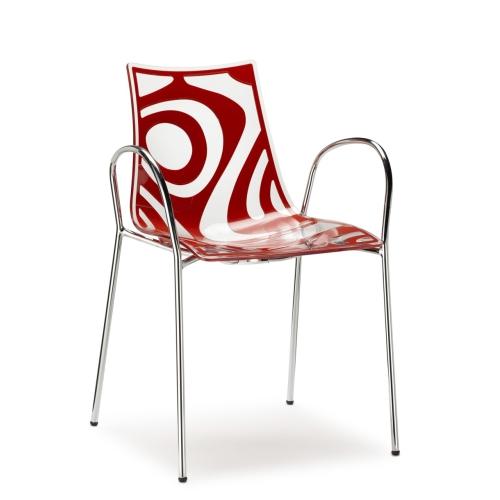 Sedia Wave con braccioli Scab Design