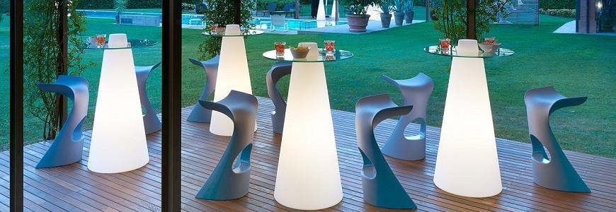 catalogo tavoli illuminati, tavolini illuminati, arredo giardino ... - Arredamento Moderno Grottaminarda