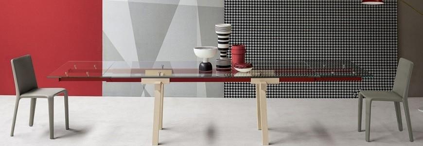 Tavoli allungabili da cucina , rotondi, quadrati moderni in vetro ...