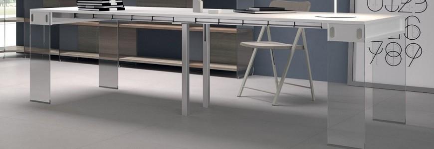 Consolle allungabile moderna e classica apribile con sedie ...