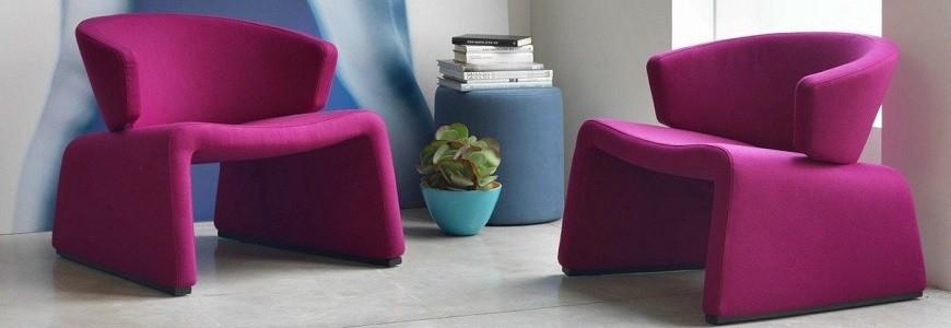 Poltrone Moderne Colorate.Poltrone Design Poltrone Vintage Colorate Arredare Moderno