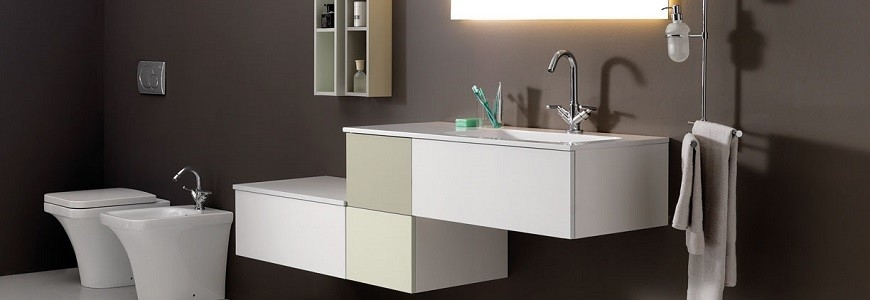 Mobili bagno moderni sospesi classici con lavabo for Offerta mobili bagno sospesi