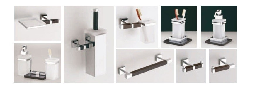 Accessori bagno design moderno minimale arredare moderno for Accessori bagno moderno