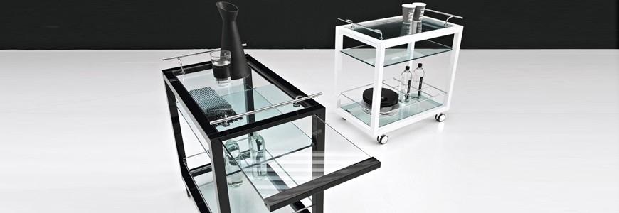 Carrello portavivande liquori per cucina in acciaio design arredare moderno - Carrello porta liquori ...