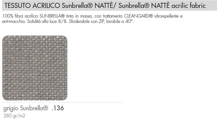 Sedia Nardi Slide colore sunbrella