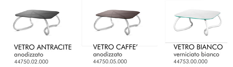 Tavolino Loto Relax 95 Nardi colori