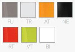 Sgabello Gliss h.87 Pedrali finiture e colori
