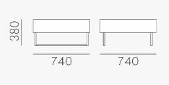 Poltrona Host Pedrali dimensioni e misure