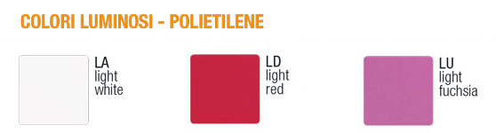 Sirio Lamp Slide light colors