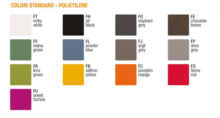 Fauteuil Kalla Slide couleurs standard