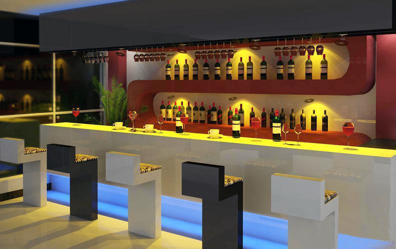 Arredo bar guida completa arredare moderno - Cucina con bancone bar ...