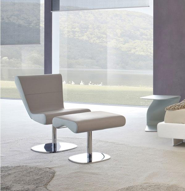 Bonaldo come arredare una zona living moderna in stile for Zona living moderna