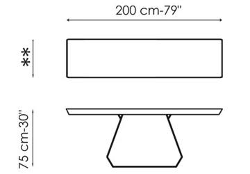 Bonaldo Amond Console 200